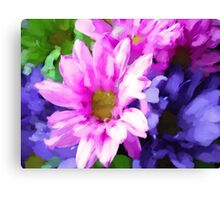 floral fun Canvas Print