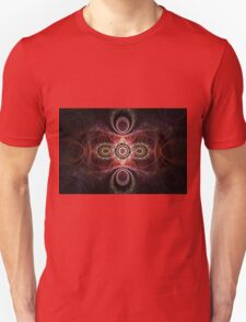 Pink and Red Patterns Unisex T-Shirt