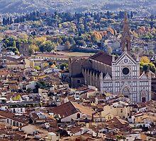 Basilica di Santa Croce by Lynne Morris