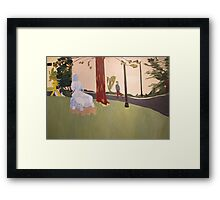 Behind the Community Center Theater Framed Print