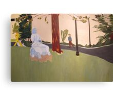 Behind the Community Center Theater Canvas Print