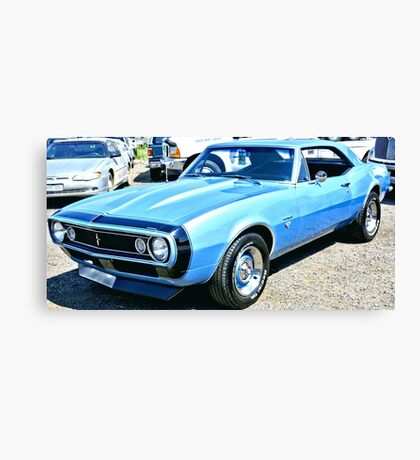 Chevy Camero Muscle Car Canvas Print