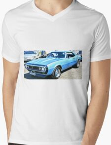 Chevy Camero Muscle Car Mens V-Neck T-Shirt