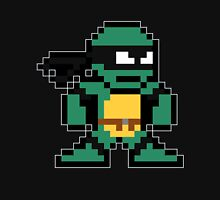 8-Bit Make-Your-Own-Turtle (Mikey Skin) Unisex T-Shirt