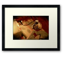 The Holidays Framed Print