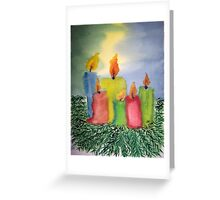 Time of Lights Greeting Card