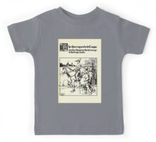 The Wonder Clock Howard Pyle 1915 0249 The Three Rogues Lend Casper Sundry Things That He May Go to the King's Castle Kids Tee