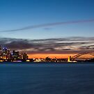 cloud streaks over Sydney by Martin Pot