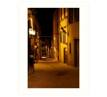 cityscapes #168, night light   Art Print