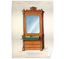 Le Garde Meuble Desire Guilmard 1839 0321 High Style Case Furniture Interior Design Poster