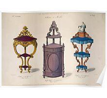 Le Garde Meuble Desire Guilmard 1839 0055 High Style Case Furniture Interior Design Poster