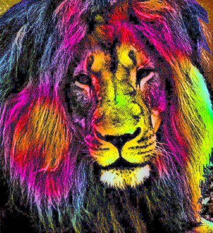 MALE LION Sticker