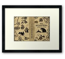 Sea Monsters Survival Guide Framed Print