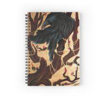 Lone Raven Spiral Notebook