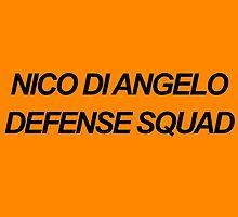 Nico Di Angelo Defense Squad by dragonlxrd