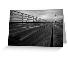 shorncliffe pier Greeting Card