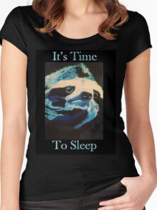 Time to Sleep Women's Fitted Scoop T-Shirt