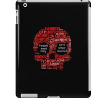 We are Not Crazy iPad Case/Skin