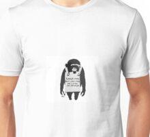 Banksy's Monkey Art Unisex T-Shirt