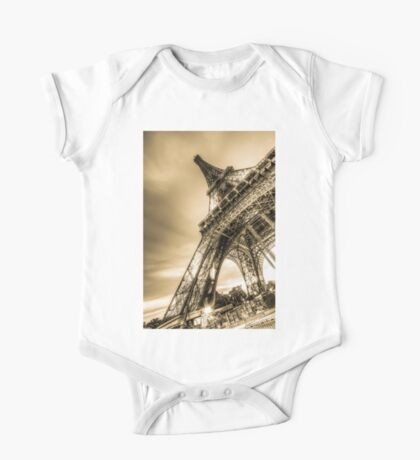 Eiffel Tower 8 One Piece - Short Sleeve