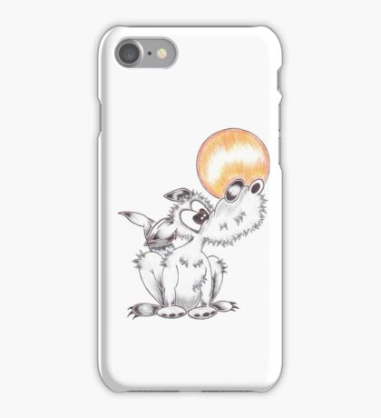 Lonely Wolf iPhone Case/Skin