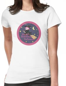 A Bewitching Halloween Womens Fitted T-Shirt