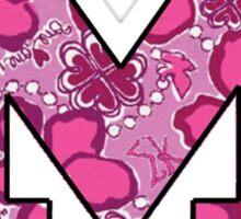 Sigma Kappa Lilly Block M Sticker