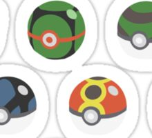 POKEBALLS SET Sticker