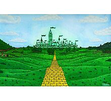 Emerald City Landscape by Kevenn T. Smith Photographic Print