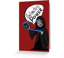 Unlimited Power! Greeting Card