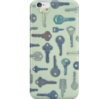 Vintage Key Collection iPhone Case/Skin