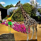 The Sweet toothed Giraffe. by albutross