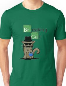 Breaking Cat  Unisex T-Shirt