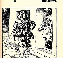 The Wonder Clock Howard Pyle 1915 0131 The Prince Knocks at the Door Poor Mean Little House by wetdryvac