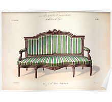 Le Garde Meuble Desire Guilmard 1839 0295 High Style Seat Furniture Interior Design Poster