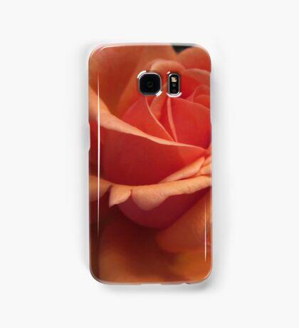 Orange Downton Abbey Rose Samsung Galaxy Case/Skin