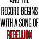 Belt Lyrics by rolypolynicoley