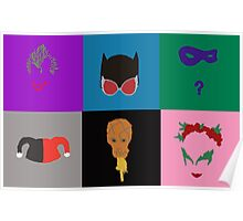 Villains of Gotham Poster