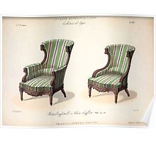 Le Garde Meuble Desire Guilmard 1839 0299 High Style Seat Furniture Interior Design Poster