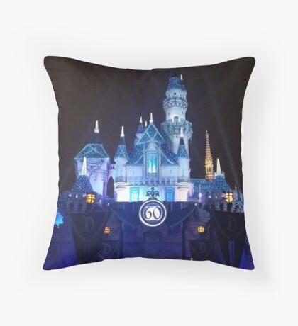 60 Years of Magic (Night) Throw Pillow