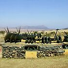 Zulu memorial at Isandlwana by poohsmate