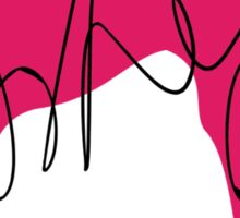 Ramona Flowers - Pink Sticker