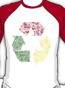 Peace, Love and Happiness T-Shirt