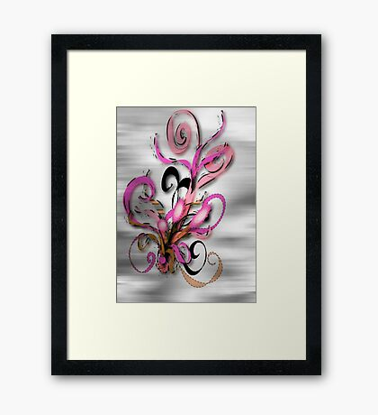 Magic Flowers © Framed Print