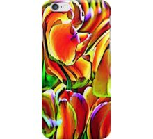 Twisted Tulips iPhone Case/Skin