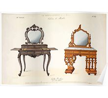 Le Garde Meuble Desire Guilmard 1839 0017 High Style Case Furniture Interior Design Poster