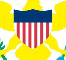 Flag of the United States Virgin Islands Sticker