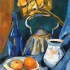 Still Life in Blue by Artcom