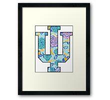 AXiD Lilly IU Framed Print