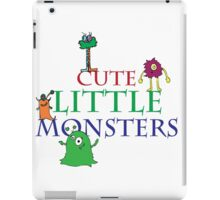 Cute Little Monsters iPad Case/Skin